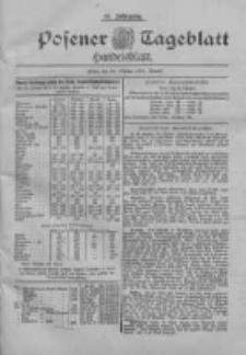 Posener Tageblatt. Handelsblatt 1898.10.25 Jg.37