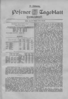 Posener Tageblatt. Handelsblatt 1898.10.28 Jg.37