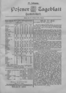 Posener Tageblatt. Handelsblatt 1898.10.29 Jg.37
