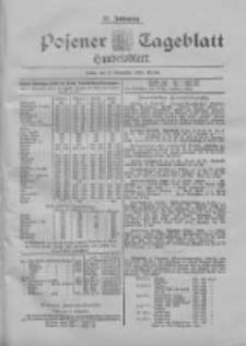 Posener Tageblatt. Handelsblatt 1898.11.03 Jg.37