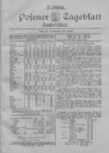 Posener Tageblatt. Handelsblatt 1898.11.10 Jg.37