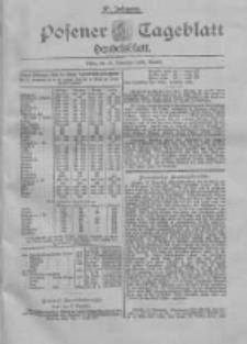 Posener Tageblatt. Handelsblatt 1898.11.12 Jg.37
