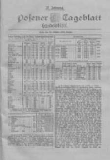 Posener Tageblatt. Handelsblatt 1898.10.31 Jg.37