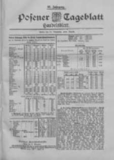 Posener Tageblatt. Handelsblatt 1898.11.21 Jg.37