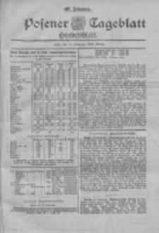Posener Tageblatt. Handelsblatt 1898.11.19 Jg.37
