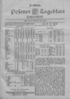 Posener Tageblatt. Handelsblatt 1898.11.25 Jg.37