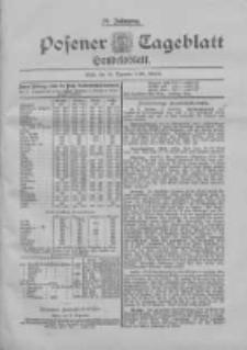Posener Tageblatt. Handelsblatt 1898.12.20 Jg.37