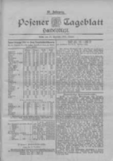 Posener Tageblatt. Handelsblatt 1898.12.24 Jg.37