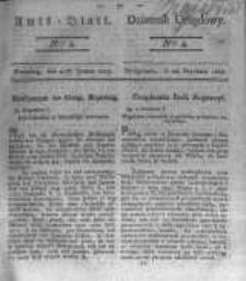 Amtsblatt der Königlichen Preussischen Regierung zu Bromberg. 1823.01.24 No.4