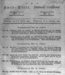 Amtsblatt der Königlichen Preussischen Regierung zu Bromberg. 1823.01.31 No.5