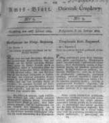 Amtsblatt der Königlichen Preussischen Regierung zu Bromberg. 1823.02.28 No.9