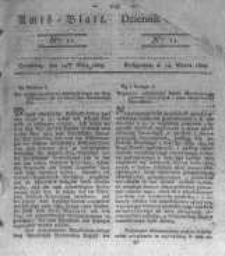 Amtsblatt der Königlichen Preussischen Regierung zu Bromberg. 1823.03.14 No.11