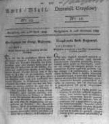Amtsblatt der Königlichen Preussischen Regierung zu Bromberg. 1823.04.11 No.15