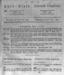Amtsblatt der Königlichen Preussischen Regierung zu Bromberg. 1823.05.09 No.19