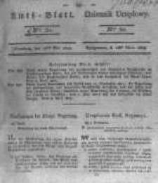 Amtsblatt der Königlichen Preussischen Regierung zu Bromberg. 1823.05.16 No.20