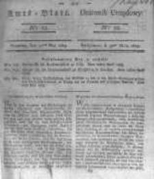 Amtsblatt der Königlichen Preussischen Regierung zu Bromberg. 1823.05.30 No.22