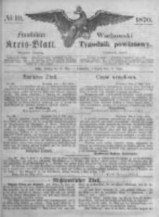 Fraustädter Kreisblatt. 1870.05.13 Nr19