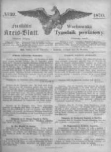 Fraustädter Kreisblatt. 1870.09.30 Nr39