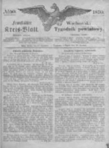 Fraustädter Kreisblatt. 1870.12.16 Nr50
