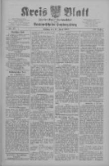 Kreis Blatt für den Kreis Neutomischeler zugleich Hopfenzeitung 1909.06.11 Jg.28 Nr47