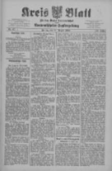 Kreis Blatt für den Kreis Neutomischeler zugleich Hopfenzeitung 1909.08.20 Jg.28 Nr67
