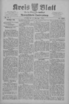 Kreis Blatt für den Kreis Neutomischeler zugleich Hopfenzeitung 1909.09.10 Jg.28 Nr73