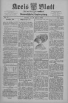 Kreis Blatt für den Kreis Neutomischeler zugleich Hopfenzeitung 1909.10.19 Jg.28 Nr84