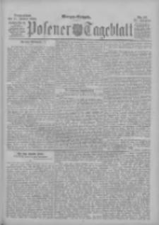 Posener Tageblatt 1896.01.11 Jg.35 Nr17
