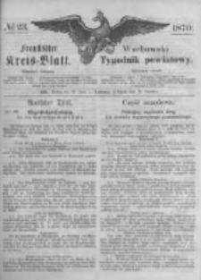 Fraustädter Kreisblatt. 1870.06.10 Nr23