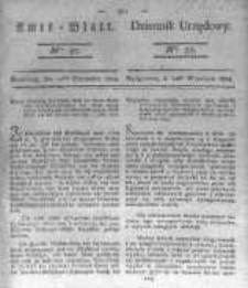 Amtsblatt der Königlichen Preussischen Regierung zu Bromberg. 1823.09.12 No.37