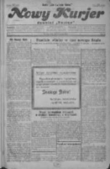 """Nowy Kurjer: dawniej """"Postęp"""" 1930.01.01 R.41 Nr1"""