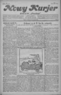 """Nowy Kurjer: dawniej """"Postęp"""" 1930.03.16 R.41 Nr63"""