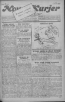 """Nowy Kurjer: dawniej """"Postęp"""" 1930.04.13 R.41 Nr87"""