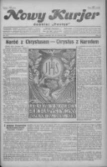 """Nowy Kurjer: dawniej """"Postęp"""" 1930.06.26 R.41 Nr145"""