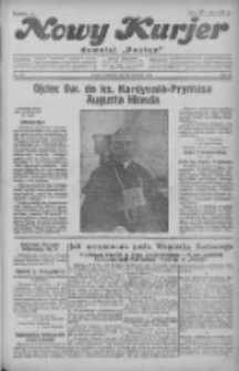 """Nowy Kurjer: dawniej """"Postęp"""" 1930.09.28 R.41 Nr225"""