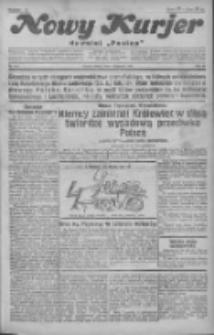 """Nowy Kurjer: dawniej """"Postęp"""" 1930.11.01 R.41 Nr254"""