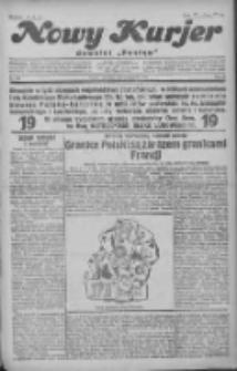 """Nowy Kurjer: dawniej """"Postęp"""" 1930.11.09 R.41 Nr260"""