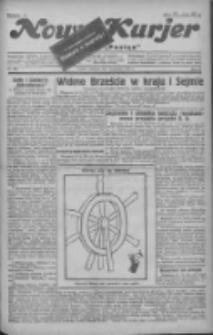 """Nowy Kurjer: dawniej """"Postęp"""" 1930.12.14 R.41 Nr289"""