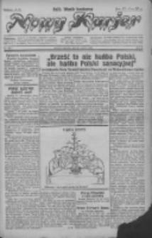 """Nowy Kurjer: dawniej """"Postęp"""" 1930.12.25 R.41 Nr298"""