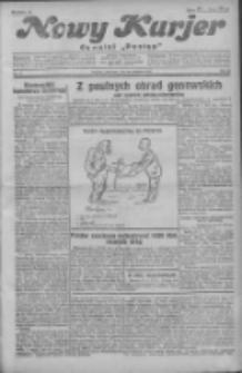 """Nowy Kurjer: dawniej """"Postęp"""" 1931.01.25 R.42 Nr20"""