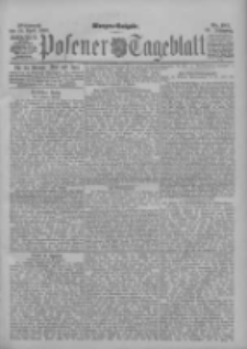 Posener Tageblatt 1896.04.22 Jg.35 Nr187