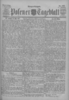 Posener Tageblatt 1902.08.07 Jg.41 Nr365