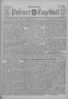 Posener Tageblatt 1902.08.13 Jg.41 Nr376