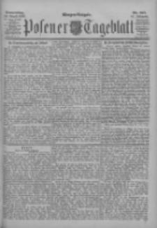 Posener Tageblatt 1902.08.14 Jg.41 Nr377