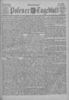 Posener Tageblatt 1902.08.14 Jg.41 Nr378
