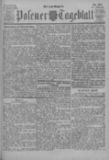Posener Tageblatt 1902.08.16 Jg.41 Nr381
