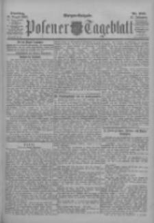 Posener Tageblatt 1902.08.19 Jg.41 Nr385