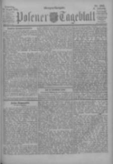 Posener Tageblatt 1902.08.24 Jg.41 Nr395