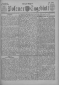 Posener Tageblatt 1902.08.30 Jg.41 Nr405