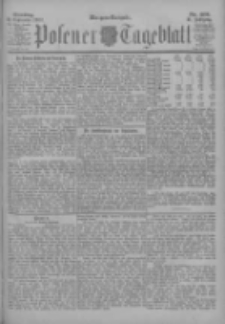 Posener Tageblatt 1902.09.02 Jg.41 Nr409
